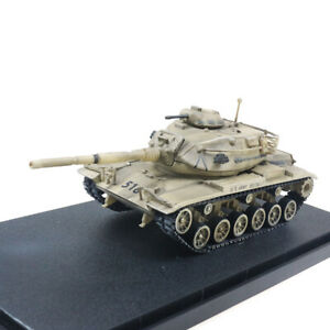 New 1:72 Scale US Army M60A3 Main Battle Tank Desert Color Metal + Plastic Model