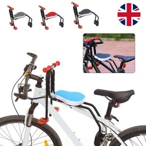 Safety Child Baby Kids Bike Bicycle Seat Front Carrier With Handrail Armrest NEW
