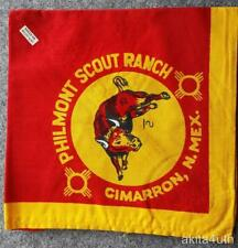 Philmont Scout Ranch Neckerchief - Bull - Cimarron N.M. - Boy Scouts of America