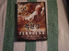 Fearless (DVD) Fate made him a warrior, courage made him a Hero. Chinese Import