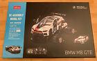 Rastar Official BMW M8 GTE RC Racing Car building Kit Brand New 1:18