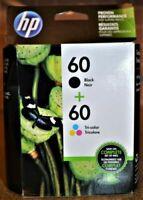 HP 60 N9H63FN#140 Original Ink Cartridge - Black and Tri-Color Genuine