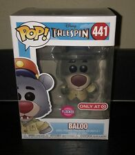 Target Exclusive Tale Spin Baloo Flocked Funko Pop! Target Con w/ New Protector