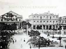 "Havana ""Central park"" © 1900 reprint View to Tacon Theater and Hotel Ingletarra"