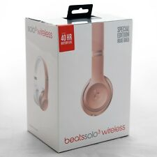 Beats by Dr. Dre Solo 3 Wireless On-Ear Headphones Rose Gold - New - Sealed