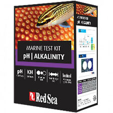 Red Sea Test Kit pH Alkalinity Marine Saltwater Aquarium Test FREE USA SHIPPING