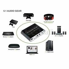 Mini 5.1 Channel DTS / AC3 HD Audio Rush Digital Surround Sound Decoder US