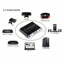 Mini 5.1 Channel DTS / AC3 HD Audio Rush Digital Surround Sound Decoder US