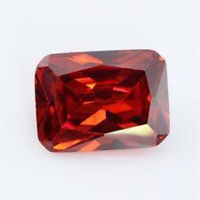 Golden Yellow Sapphire 6x8MM 2.40Ct Emerald Cut AAAAA VVS Loose Gemstone