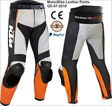 KTM Motorbike Motorcycle Rider Leather Pant GE-07-2020 (US 38-48)