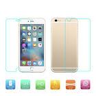 Protector de Cristal Templado Delantero y Trasero de iPhone4 5 6 7 plus TL8