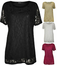 Nylon Scoop Neck Casual Tops & Shirts for Women