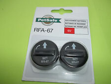 PETSAFE RFA-67 Lithium BATTERIES For PetSafe Electronic Wireless Fence 2 in pack