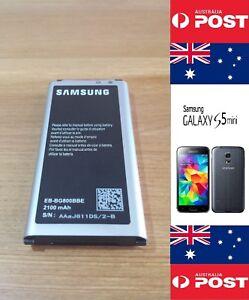 Samsung S5 mini Original Battery EB-BG800BBE 2100mAh Good Quality - Local Seller