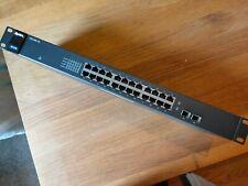 ZyXEL GS1100-24 24 Port Rackmount Ethernet Switch 1 Gigiabit