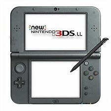 Nintendo 3ds LL Metallic Black Japan IMPORT Japanese Toy Video Game