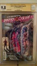 Justice League VS. Suicide Squad #3 CGC 9.8 AUTOGRAPHED by JOSHUA WILLIAMSON