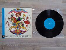 Das Liederkarussel Kinderlieder Lieder Musik Weihnachten Schallplatte LP Vinyl