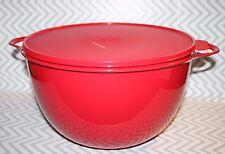 Tupperware Thatsa Jumbo Mixing Bowl 59 cups/14 L Red