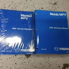 Repair Manuals Literature For Mazda Mpv For Sale Ebay