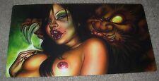 JOE CAPOBIANCO Art Print 6X11 ONI'S KISS Poster tattoo artist