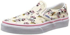Vans X Disney NEW Kids Minnie Mouse Slip-on Shoes