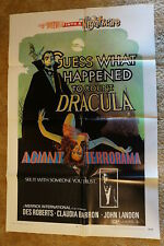 GUESS WHAT HAPPENED TO COUNT DRACULA  HORROR   ONE SHEET 1970