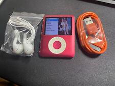Apple iPod nano 8GB 3rd Generation Red USED BUNDLE