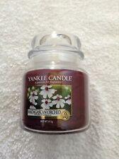 Yankee candle 'Madagascan Orchid' medium jar