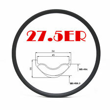 27.5er 650B 50mm width 25mm depth carbon bike rim MTB mountain bike rim