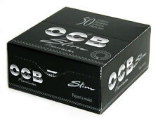 OCB Premium Slim Rolling Cigarette paper King Size 50 booklets - 1600 papers