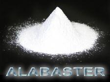 10 Kg Alabaster-Gips, hochreiner, weißer Gips für feinste Arbeiten