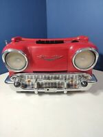 Vtg Randix 57 Chevy AM FM Radio Cassette CR-1957 Tested, Please read description
