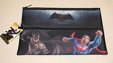 DC Comics Batman V Superman Movie Printed Neoprene Zip Up Pencil Case New