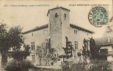 CPA Cháteau de Beauzac, canton de Monstrol Velay Artistique Le Puy  (170231)