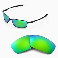 New Walleva Polarized Emerald Replacement Lenses For Oakley Splinter Sunglasses