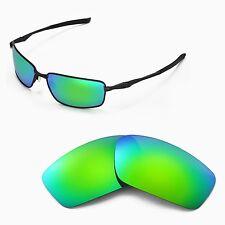 New Walleva Polarized Emerald Replacement Lenses For Oakley Splinter Sunglasses