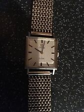 ORO OMEGA De Ville orologio con solidi GOLD POLSO MAGLIA stile cinturino / bracciale