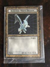 """RARE"" 1996 Dungeon Dice Monsters PROMO card ""Blue Eyes White Dragon"" B1-01"
