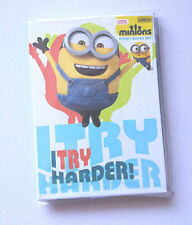 MINIONS STICKY NOTES COMPENDIUM 7 Mixed Sizes Wallet FULLY DECORATED home office