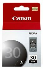 Canon OEM PG 30 black ink PIXMA iP1800 iP2600 MP140 MP190 MP210 MP470 MX300 PG30