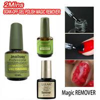 VINIMAY Nail Gel Magic Remover Soak Off Base Top Coat Nail Art Primer Lacquer