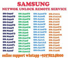 Samsung Remote Unlock Service Galaxy S8 & S8 Plus from ATT, Cricket & Xfinity