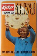 Kicker Almanach 1978 / Das Fußballjahr im Taschenbuch