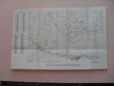 Vintage Topographical Map of the Idaho Springs Quadrangle, Colorado - 1917