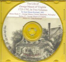 The Life of George Mason of Virginia In Two Volumes + Bonus Book