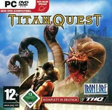 TITAN QUEST * KOMPLETT DEUTSCH  BRANDNEU