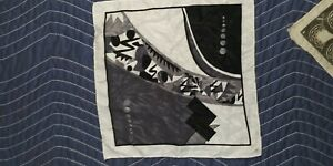 20's Art Deco Pocket Square (Silk/Satin?)