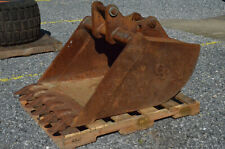 """Paladin New Holland LB 75 115 36""""  Excavator bucket with pins Heavy Duty 15,400#"""
