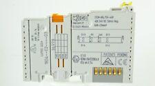 WAGO 750-408 4-Kanal Digital Eingangsklemme Digitaleingang 4DI 24V DC 3ms neg.